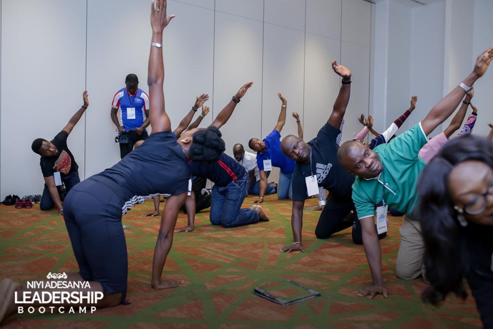 Iwo taking #NALB1.0 participants through kinesthesis